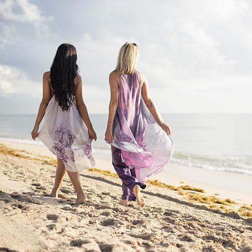 Brigitte and Dionna Cover Ups