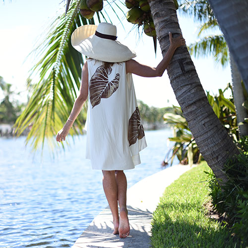 Candace Cover Up in Ivory