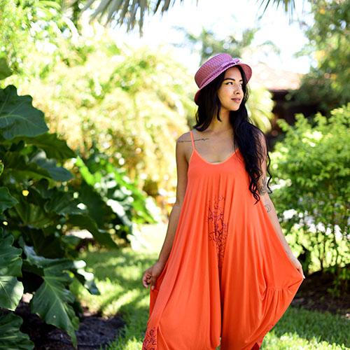 Jumper in Orange