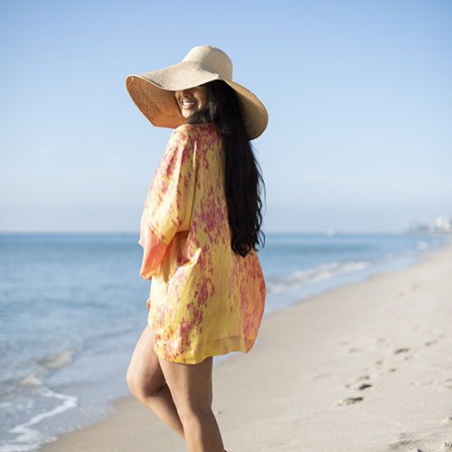 Isabella Mini Kimono