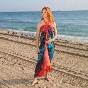 Carmel Pareo Dress