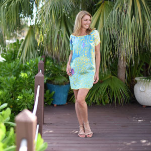 Seaside Shift Dress