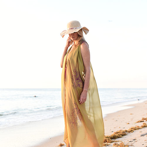 Vivianne Cover Up in Loden