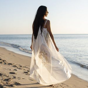 ChichiLuna Vivianne Cover Up in White